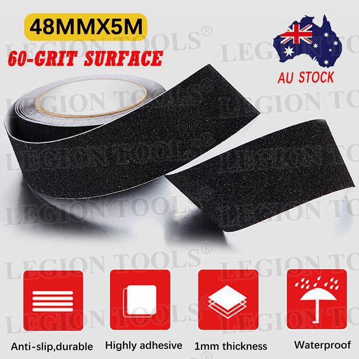4.5m x 50mm Anti Slip Step Tape for Stairs 3m Non Slip Tread Tape Vehicles